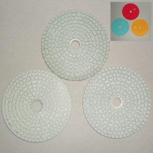 Dijakeramika čičak 1,2,3 Ø100mm beli